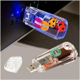 USB Liqui-Memory Drive 2.0 - (4GB)