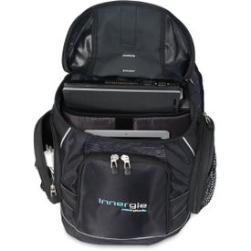 Printed Vertex Trek Computer Backpack