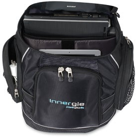 Branded Vertex Trek Computer Backpack