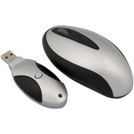 Customizable Wireless Optical Mouse Printed with Your Logo