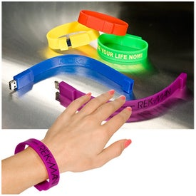 Branded Wristlet USB Memory Drive 2.0 -