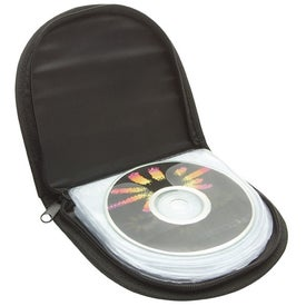 Personalized Zipper Cd Case