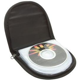 Personalized Zipper CD Case