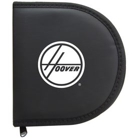 Imprinted Zipper CD Case