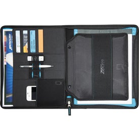 Zoom 2-in-1 Tech Sleeve Zip Padfolio for iPad for Promotion