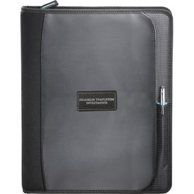 Customized Zoom 2-in-1 Tech Sleeve Zip Padfolio for iPad