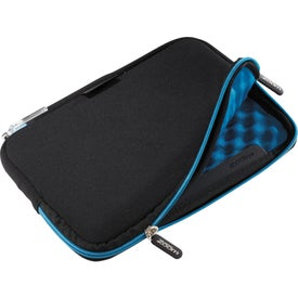 "Imprinted Zoom Waffle Case for 7"" Tablets"