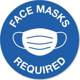 "Circular Stock Masks Required Wall Decal (0.009"" Thick)"