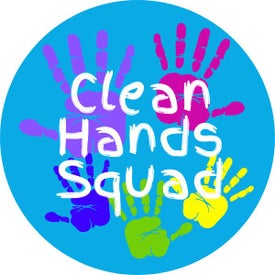 Clean Hands Squad Hygiene Label