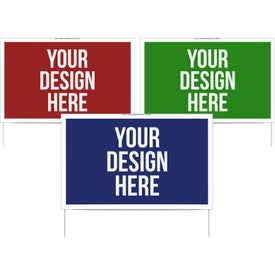 Double Sided Yard Sign (23