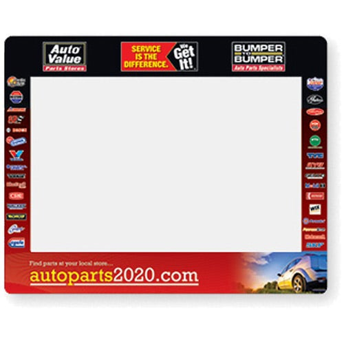 Full Color Imprint Frame-It Window Counter Mat