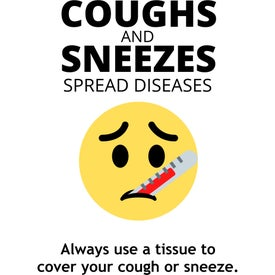 Healthy Hygiene Labels - Coughs and Sneezes (7