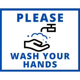Healthy Hygiene Labels - Wash Your Hands