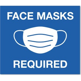 "Rectangular Stock Masks Required Wall Decals (0.009"" Thick)"