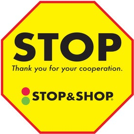 Removable Floor Decal - Stop Signs (8