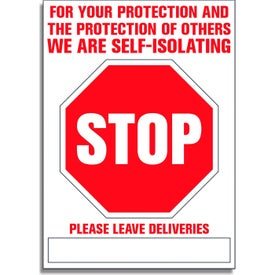 "Self Isolating Stop Signs (0.787"" Thick)"