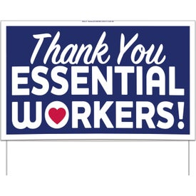 UNITE for The FIGHT Yard Sign - Thank You Essentials