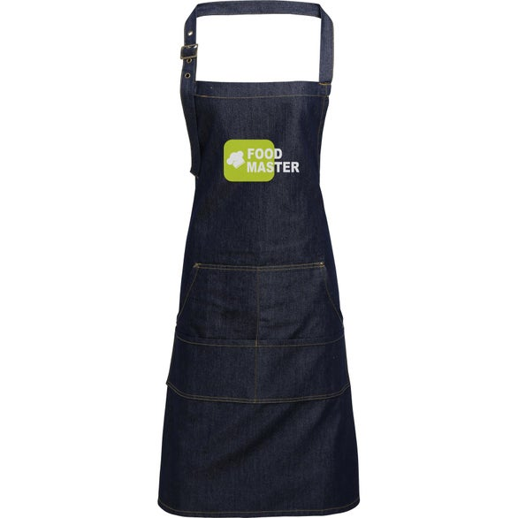 Indigo Denim Artisan Collection Jeans Stitch Denim Bib Apron