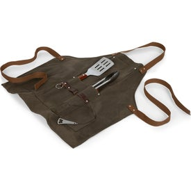 BBQ Aprons with Tools and Bottle Opener