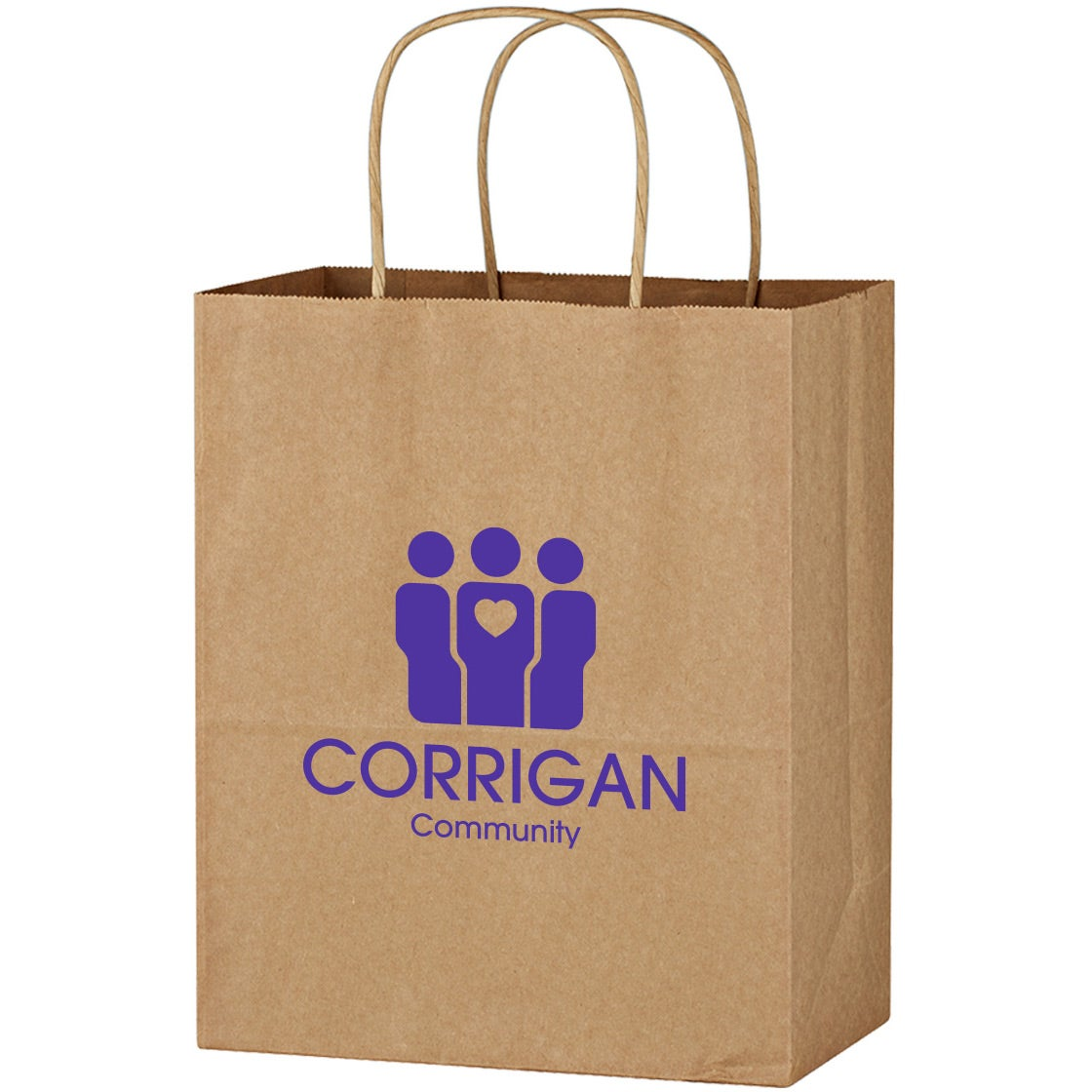"Kraft Paper Brown Wine Bag (13"" x 17"")"