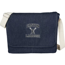 "Denim 15"" Computer Messenger Bag"