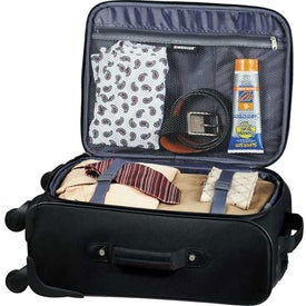 Personalized Wenger 4-Wheeled Spinner Carry-On