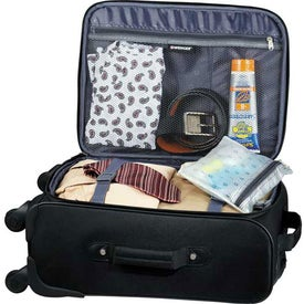 Printed Wenger 4-Wheeled Spinner Carry-On