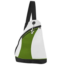 Custom 2 Tone Color Splash Side Sling Pack