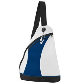 2 Tone Color Splash Side Sling Pack