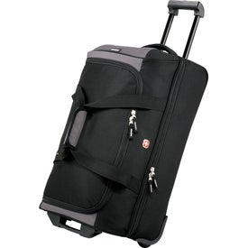 """Wenger 22"""" Drop Bottom Duffel Bag Imprinted with Your Logo"""