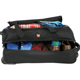 "Logo Wenger 22"" Drop Bottom Duffel Bag"