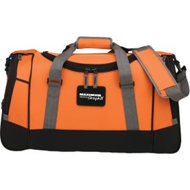 "22"" Deluxe Travel Duffel Branded with Your Logo"