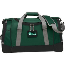 "22"" Deluxe Travel Duffel for Advertising"