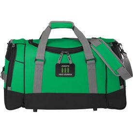 "Imprinted 22"" Deluxe Travel Duffel"