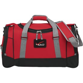 "22"" Deluxe Travel Duffel for Your Organization"