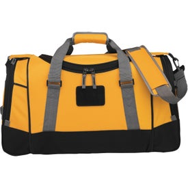 "Advertising 22"" Deluxe Travel Duffel"