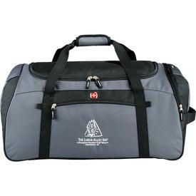 "Monogrammed Wenger 26"" Cargo Duffel Bag"