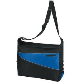 Advertising 2-Tone Computer Messenger Bag