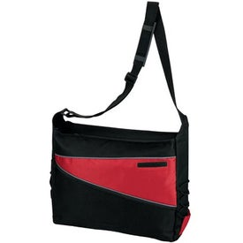 Promotional 2-Tone Computer Messenger Bag