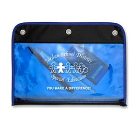 3-Ring Organizer Imprinted with Your Logo