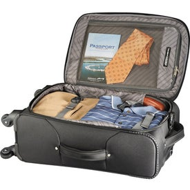 Monogrammed Travelpro SkyGear 4-Wheeled Spinner Carry-On