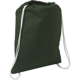 Cotton String-A-Sling Backpack Branded with Your Logo