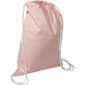 Cotton String-A-Sling Backpack for Customization