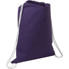 Cotton String-A-Sling Backpack for Advertising