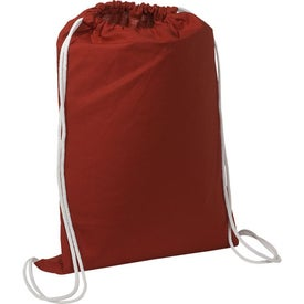 Custom Cotton String-A-Sling Backpack