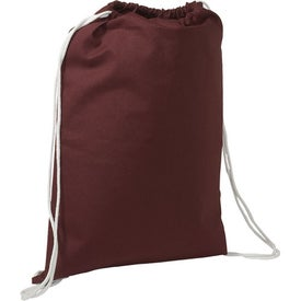 Cotton String-A-Sling Backpack for your School