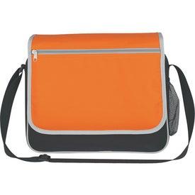 Personalized Soho Messenger Bag