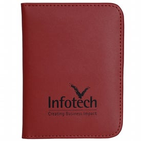 Achiever Leather Passport Holder