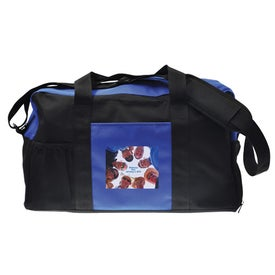 Branded Action Duffel Bag