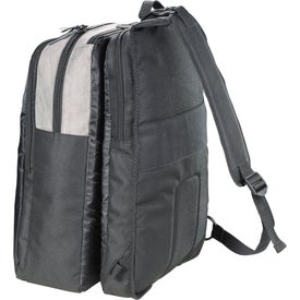 Adapt Convertible Checkpoint-Friendly Compu-Bag with Your Logo